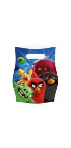 Lot de 6 sachets cadeaux Angry Birds