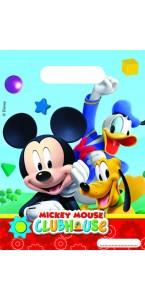 Lot de 6 sachets cadeaux Mickey