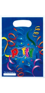 Lot de 6 sachets-cadeaux Party Streamers