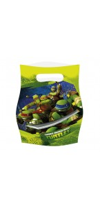 Lot de 6 sachets Tortue ninja