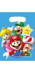Lot de 8 sachets-cadeaux Super Mario
