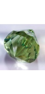 Lot de 9 diamants vert tilleul