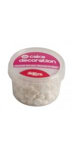 Lot de 90 gr de petites Meringues blanches déco gâteau en sucre