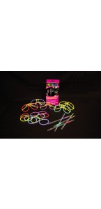 Lot de Fiesta kit fluo 5 personnes