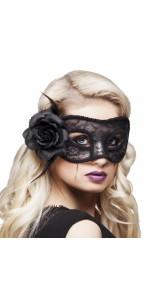 Loup noir mystique Halloween