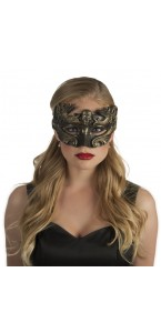 Loup Venise crâne halloween