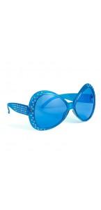 Lunettes Mouche bleues