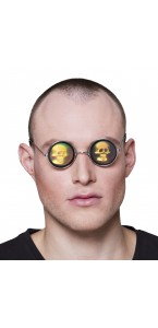 Lunettes Skully Holographique Halloween