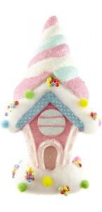 Maison Gourmandise multicolore grande taille