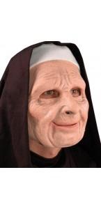 Masque Bonne sœur bouche articulée Halloween