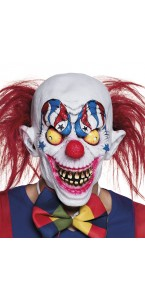 Masque Clown Creepy en Latex Halloween