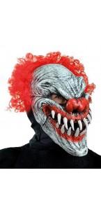 Masque Clown dernier sourire-bouche articulée Halloween