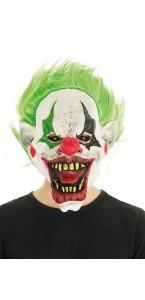 Masque Clown effrayant Halloween en latex