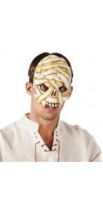 Masque de momie halloween en latex