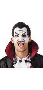 Masque de vampire halloween en latex
