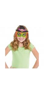 Masque EVA sorcière Halloween enfant
