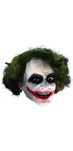 Masque Le Joker avec cheveux The Dark Knight Rise