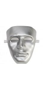 Masque neutre argenté