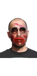 Masque Transparent homme avec sang
