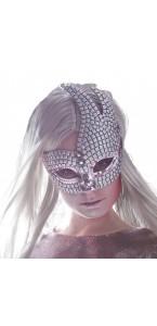 Masque Venice futuriste brillant