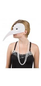 Masque venise blanc à peindre
