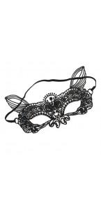 Masque venise noir à lacets