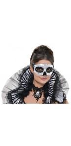 Masque vénitien squelette Halloween