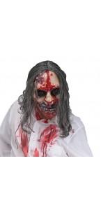 Masque zombie pompe sang Halloween