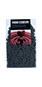 Mini Cœur chocolat Gris 500 gr
