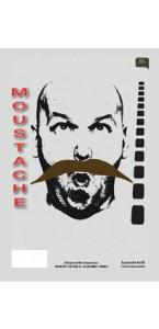 Moustache de Bandit châtain