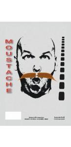 Moustache de Gaulois Rousse