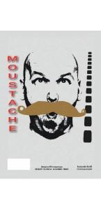 Moustache de gendarme Blonde