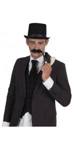Moustache détective