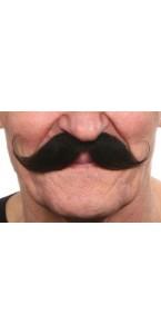 Moustache Guillaume noire