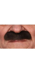 Moustache Officier brune