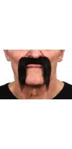 Moustache pirate noire