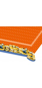 Nappe Minions en plastique 1,20 x 1,80 m