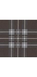 Nappe  papier intissée écossais chocolat 1,20 x 10 m