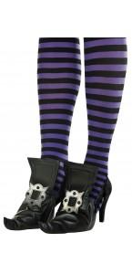 Paire de Sur-chaussures sorcière Halloween