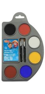 Palette de maquillage 6 couleurs de 4 g