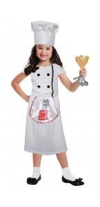 Panoplie Chef cuisinier avec accessoires 3/6 ans