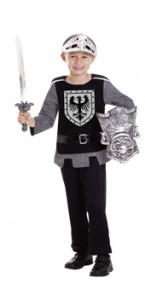 Panoplie Chevalier avec accessoires 3/6 ans