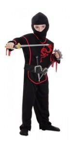 Panoplie Ninja avec accessoires 3/6 ans