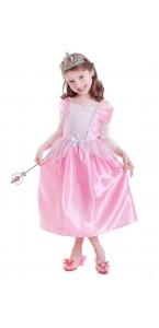 Panoplie Princesse avec accessoires 3/6 ans