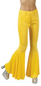 Pantalon Pat d'eph stretch jaune taille M