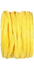 Pelote de raphia jaune d'or 100 m