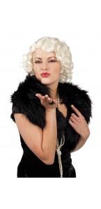 Perruque années 30 Helen pour femme  blonde