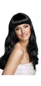 Perruque cheveux longs Chique pour femme noire