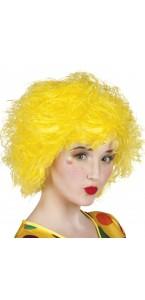 Perruque Frizzy jaune
