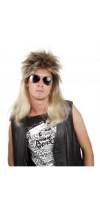 Perruque Ryan punk blonde homme